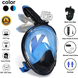 Win A Free Ufanore Full Face Snorkel Mask