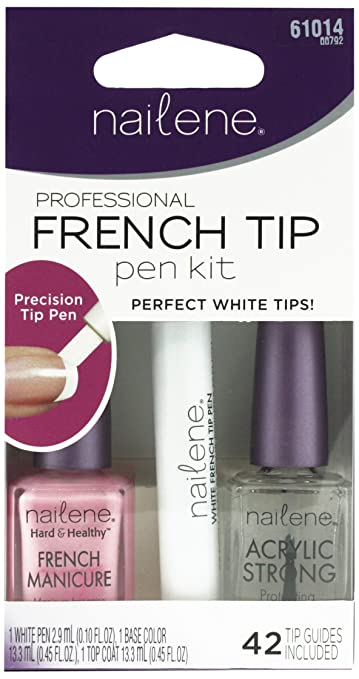 French Tip Pen Pearl White 61022 by nailene #14