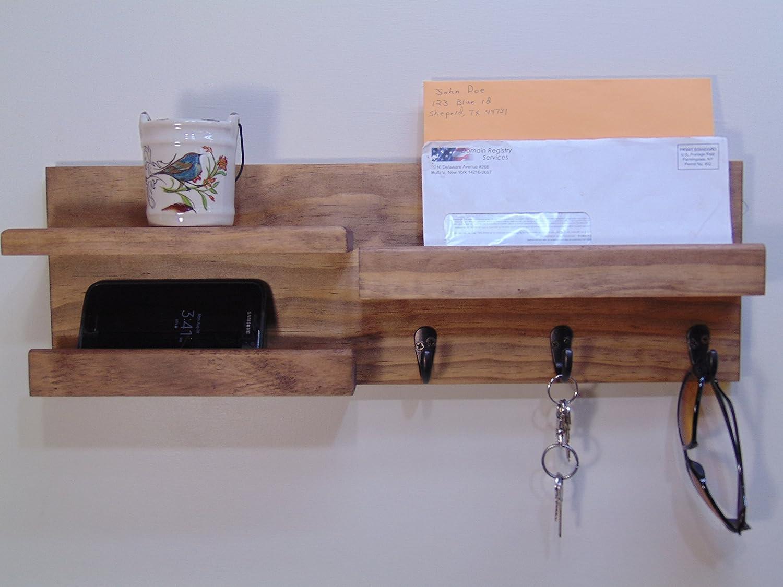 Entryway Organizer - Mail Holder - Phone Holder - Display Shelf