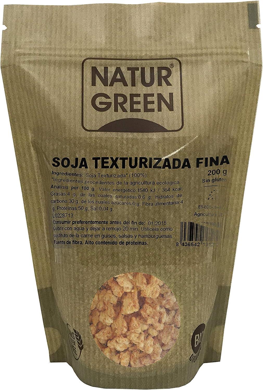 NaturGreen Soja Texturizada Fina Bio 200g