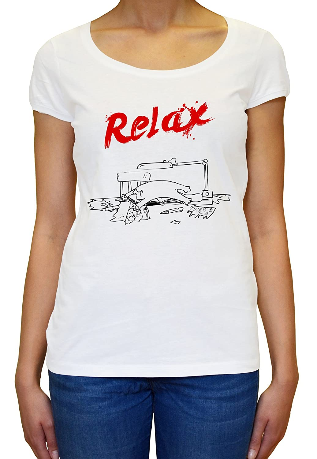 Simons Cat Relax Women's T-shirt