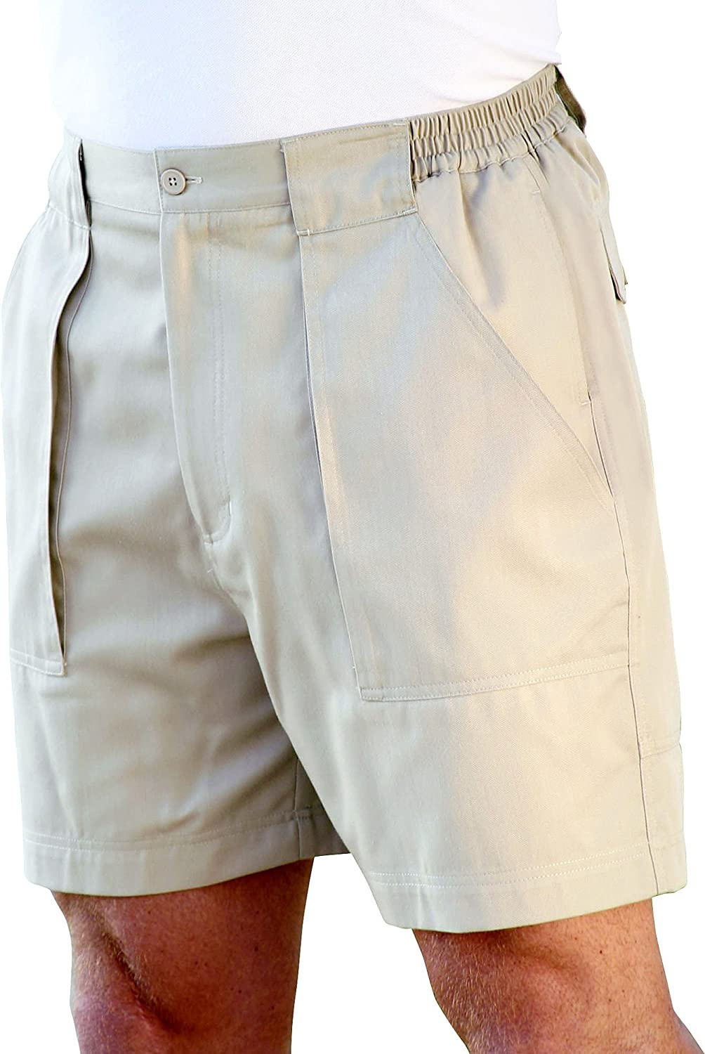 Windham Pointe Mens Side Elastic Swiss Army Shorts P000015692