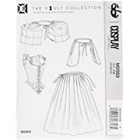 Cosplay By McCall's Cosplay M2003 FW,Stay with Boning,Petticoat, Hoops and Pocket,Sizes 18-22, Tissue, Multi/Colour, 17…