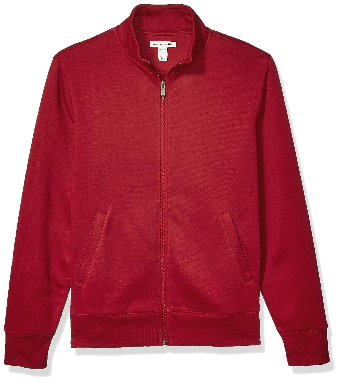 Essentials Full-Zip Fleece Mock Neck Sweatshirt Hombre