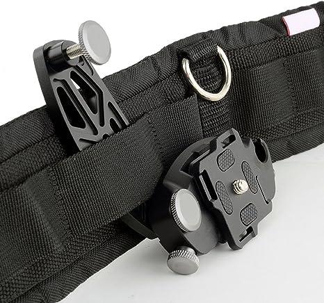 Fomito Metal cinturón cámara cintura Araña Holster 1/4