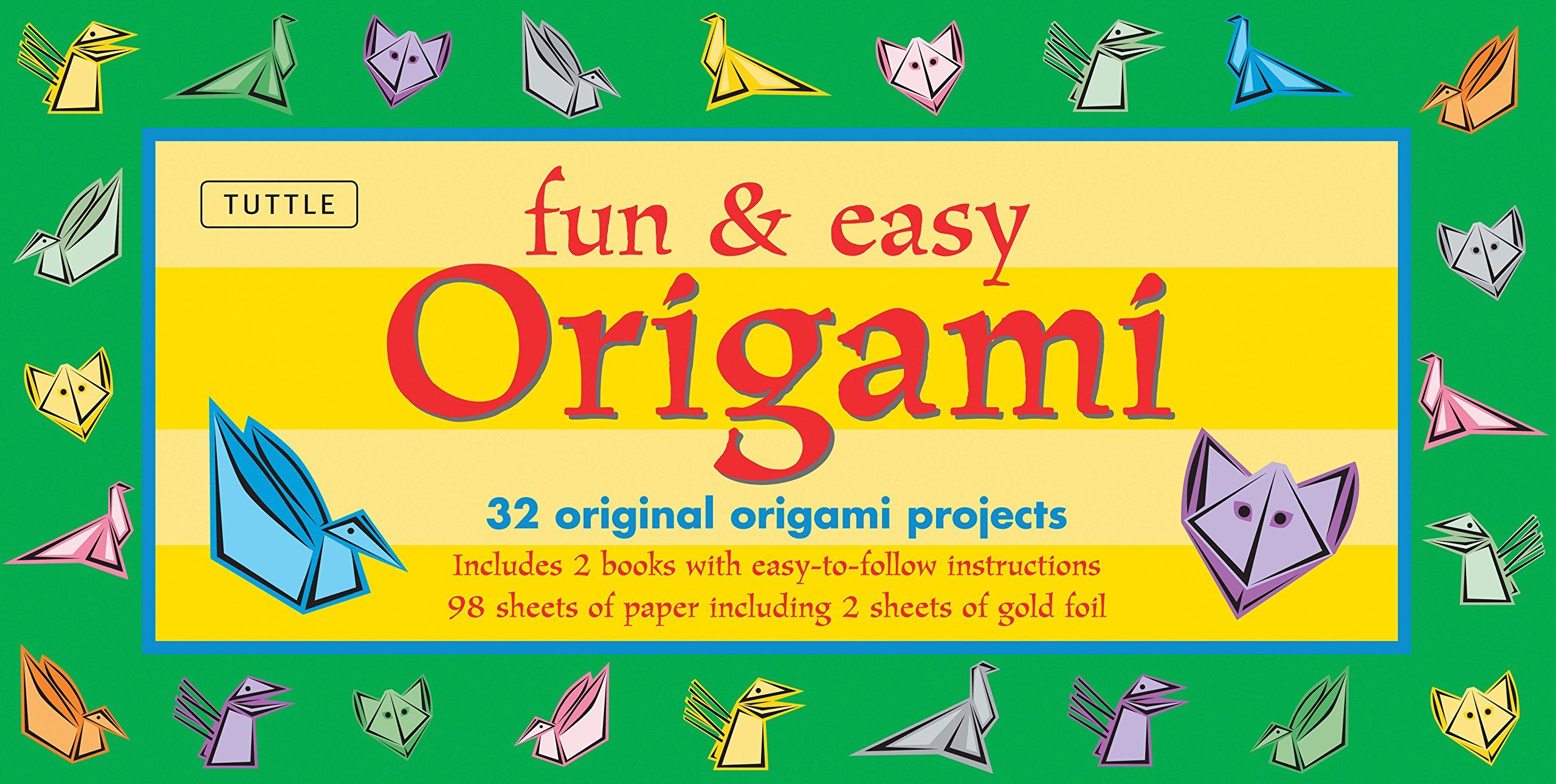 Fun & Easy Origami Kit ePub fb2 ebook