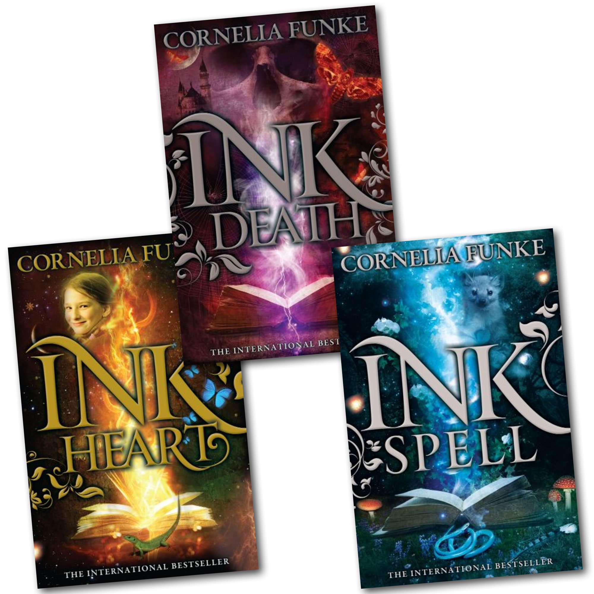 Inkheart trilogy 3 book collection set series pack inkspell inkheart trilogy 3 book collection set series pack inkspell inkdeath inkheart amazon books fandeluxe Choice Image