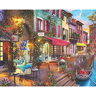 Springbok 1000 Piece Jigsaw Puzzle Dolce Vita: Toys & Games