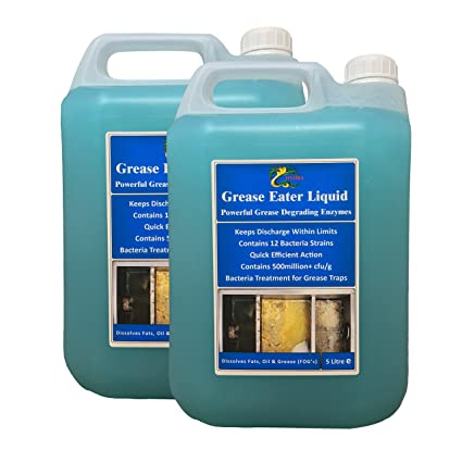 Grease Eater Liquid: Desengrasante con enzimas y tratamiento ...