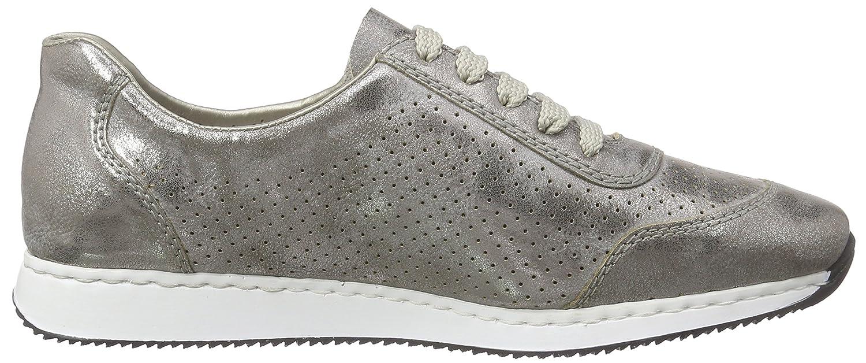 Rieker Damen 56016 Sneaker Grau (Grau / / / 40) c2d5bb