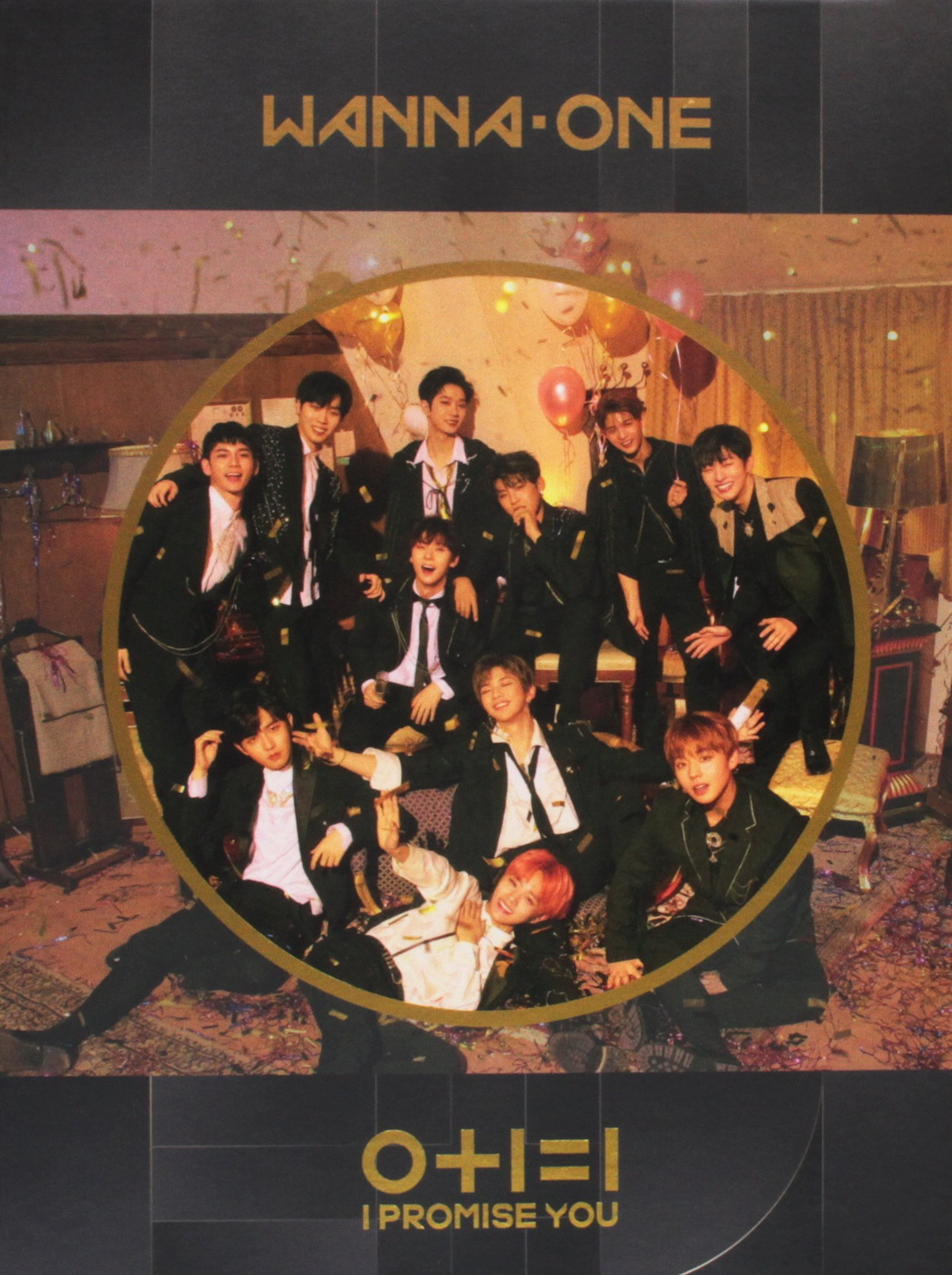 CD : Wanna One - 0+1=1 (i Promise You) (night Version) (cd+dvd Region 3) (With DVD, Asia - Import, NTSC Region 3, 2PC)