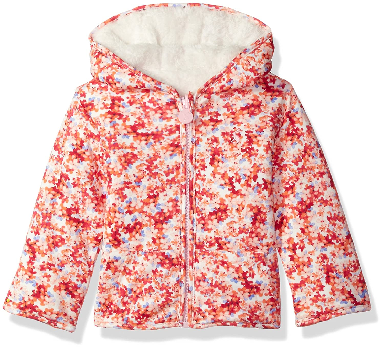 Joules Baby Girls' Cosette Reversible Fleece X_BABYCOSETTE