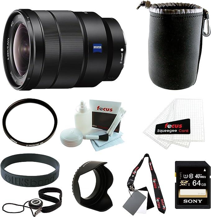 Sony Sel1635z Tessar T Fe 16 35 Mm F4 Za Oss Kamera