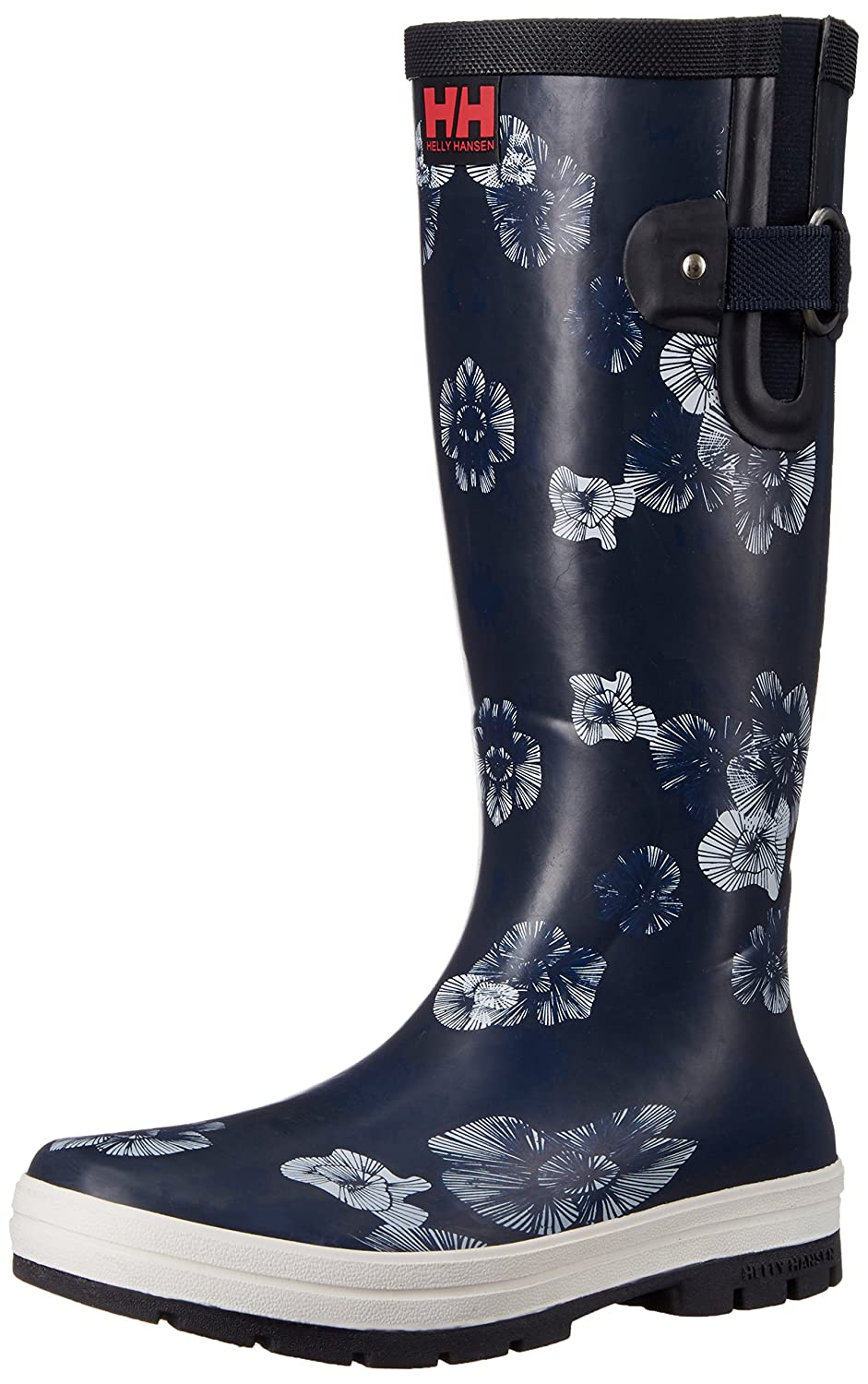 Helly Hansen Women's Veierland 2 Graphic Rain Boot B01GNSI41O 11 B(M) US|Navy/Evening Blue/Off White
