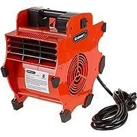 Stalwart Soplador de ventilador industrial ajustable y portátil, 3 velocidades, mecánico de alta resistencia, secador de…