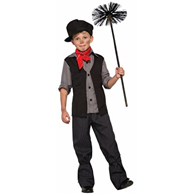 Forum Novelties Child Poppins Chimney Sweeper Costume: Clothing