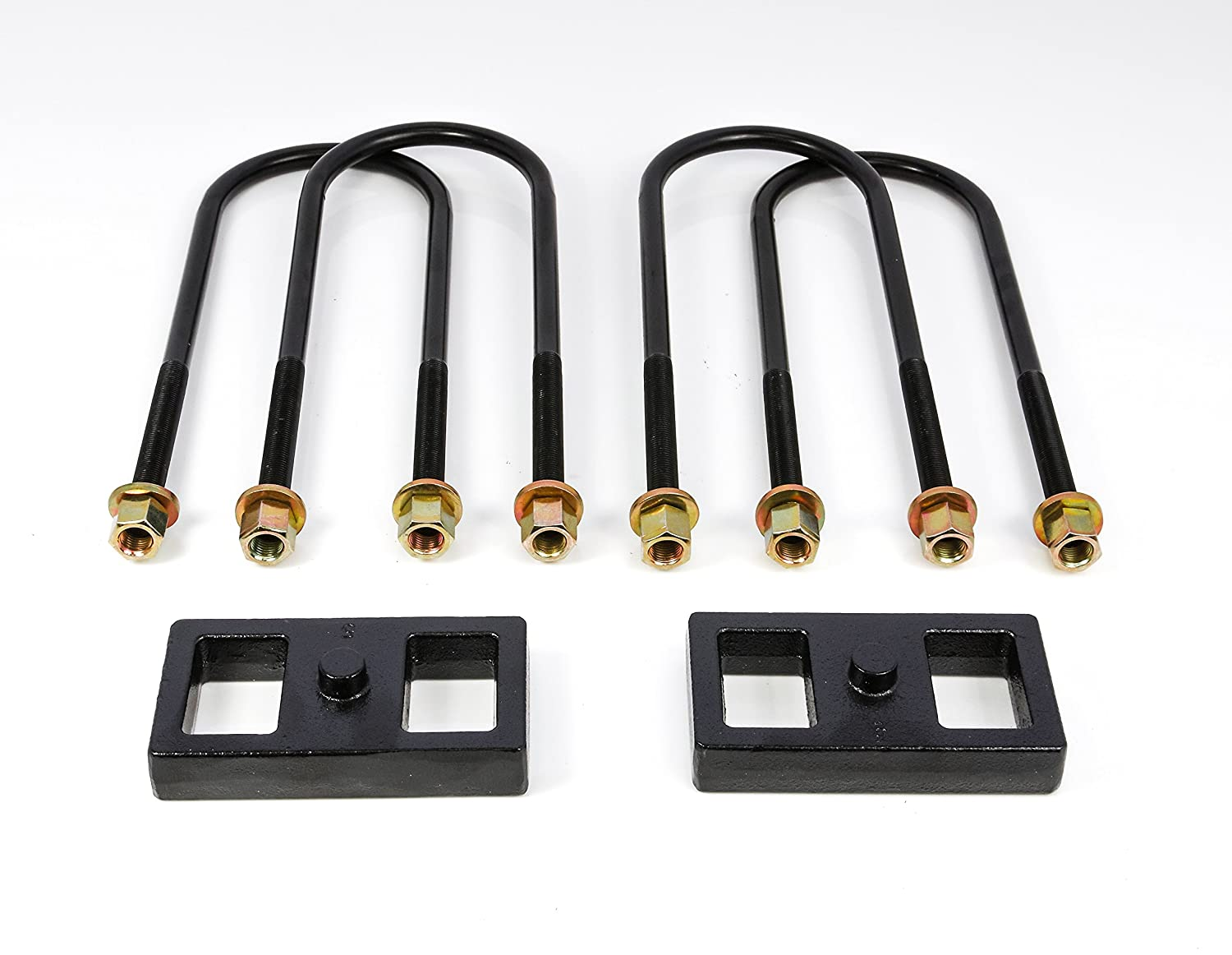 Rugged Off Road 2-2011 1 Rear Block Kit for Dodge RAM 2500//3500 2//4WD Rugged Lift