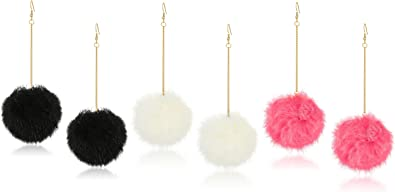 Kelly Pom Pom Earrings