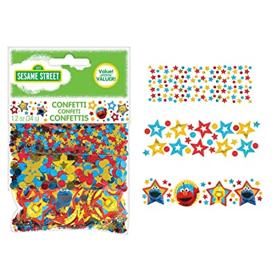 Amscan 361672 Confetti | Sesame Street Collection, Multicolor: Toys & Games