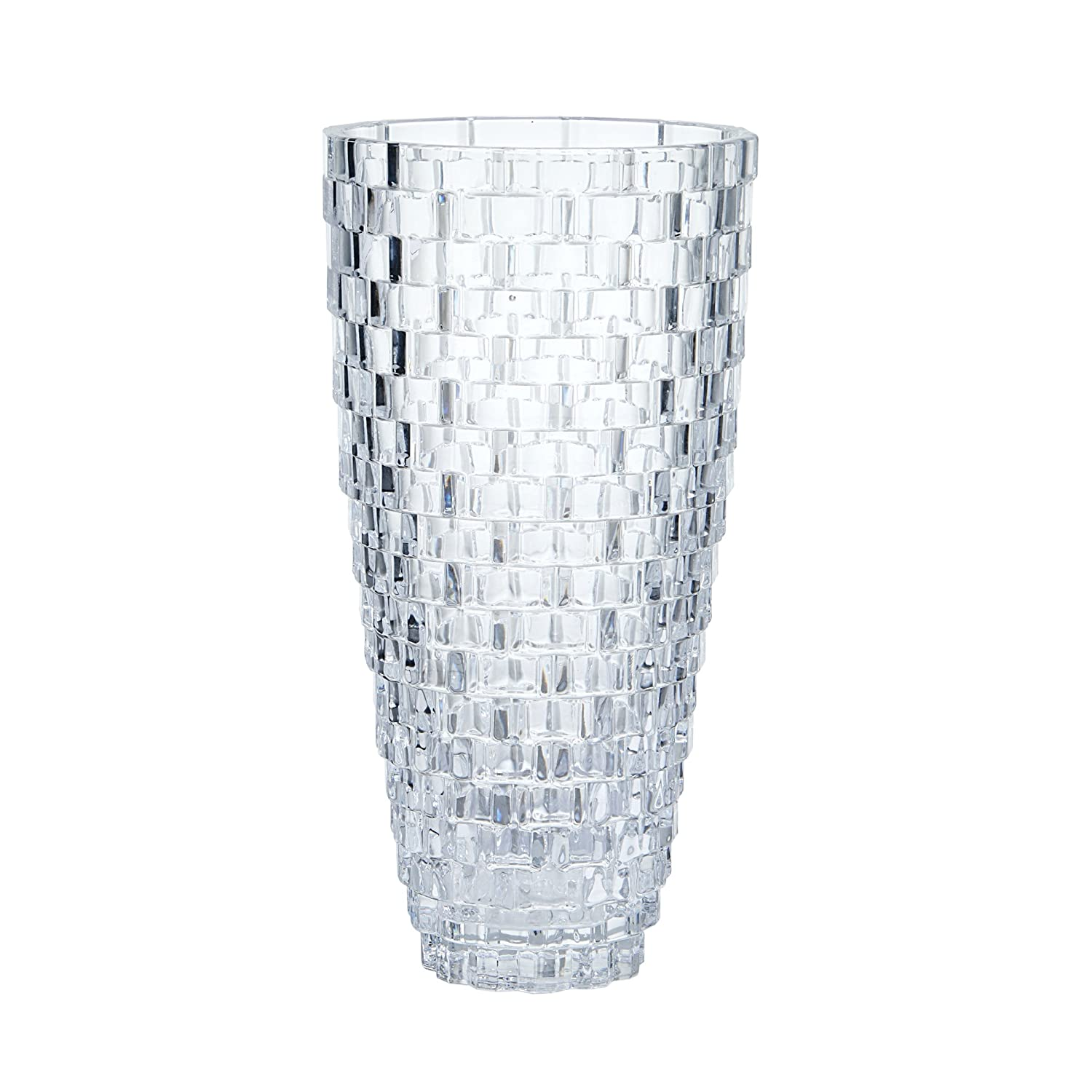 Amazon mikasa palazzo 12 inch crystal vase home kitchen reviewsmspy