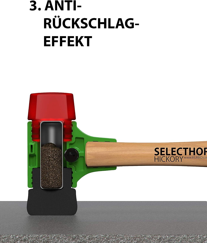 GU Schonhammer SELECTHOR mit Schlageins/ätzen aus Gummi 50 mm
