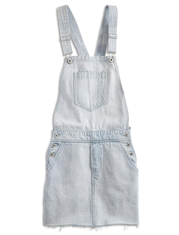 97431474c63 Lucky Brand Sleeveless Square-Neck Jean Skirt-Overalls