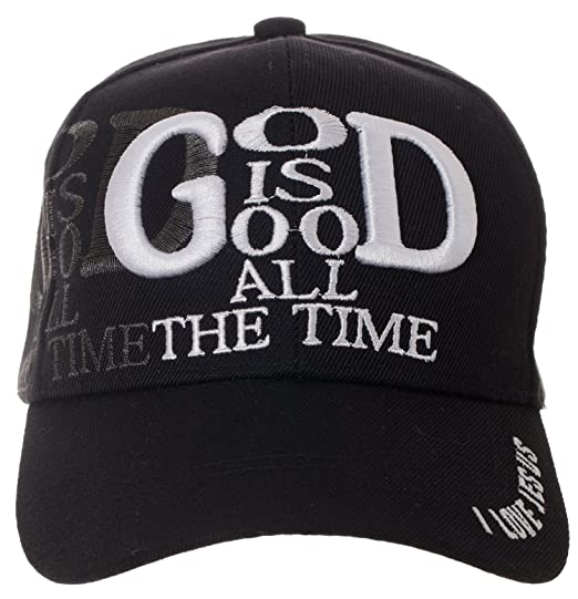 fcfc3b194b3 Artisan Owl God is Good All The Time Hat Religious Christian Gift - 100%  Cotton