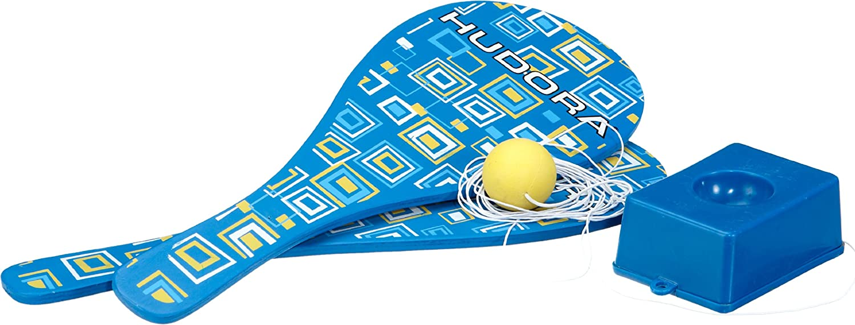Hudora 76466 - Raqueta con pelota y elástico: Amazon.es: Deportes y aire libre
