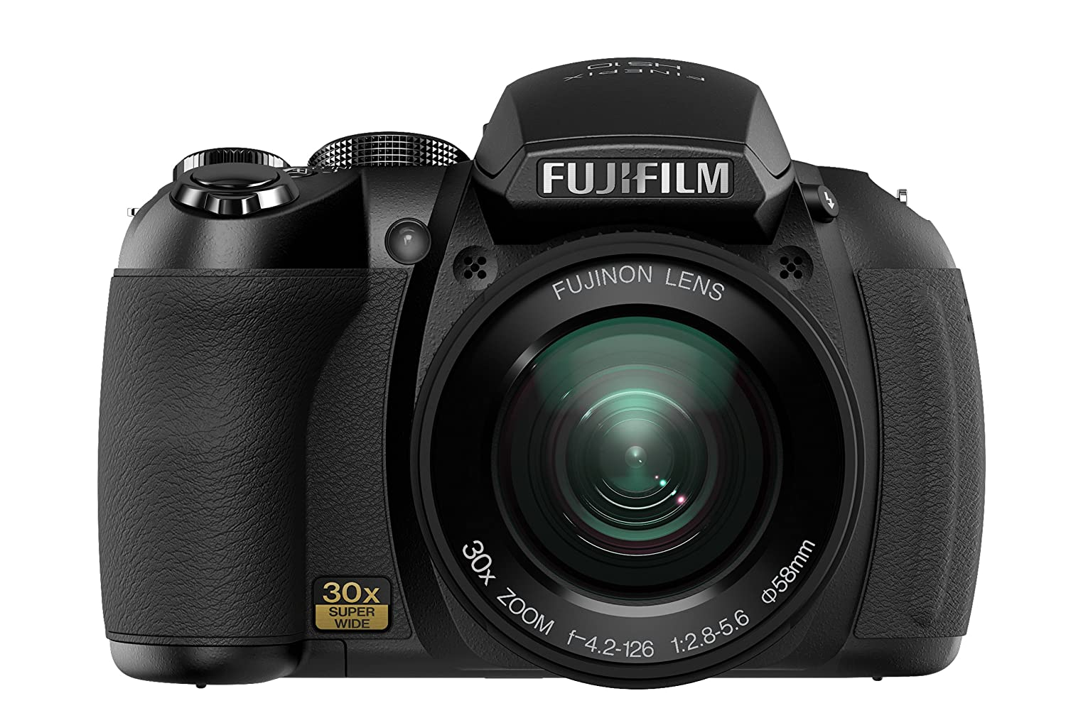 Amazon.com : Fujifilm FinePix HS10 10 MP CMOS Digital Camera with 30x Wide  Angle Optical Zoom and 3-Inch LCD : Point And Shoot Digital Cameras :  Camera & ...