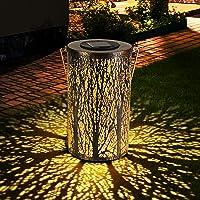 Zorara lantaarn op zonne-energie voor buiten, metalen zonnelampen, tuin, IP65 waterdicht, zonnelamp, hangend, zonnelamp…