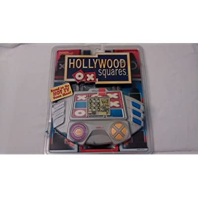 Electronic Handheld Hollywood Squares by Tiger Electronics: Toys & Games