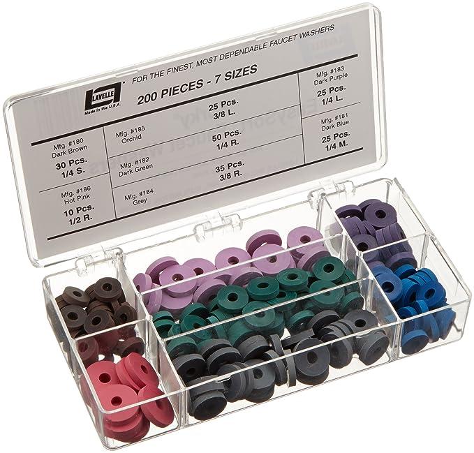 Faucet Washer Kit 200 Pcs Flat - - Amazon.com