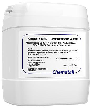 Ardrox 6367 5 US Gallon Compressor Cleaner: Amazon com: Industrial