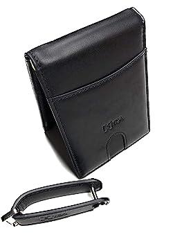 [S]YCA RFID monedero prima monedero dinero clip y llavero organizador negro real cuero hombres hombres regalo Set tarjeta Ticui nuevo