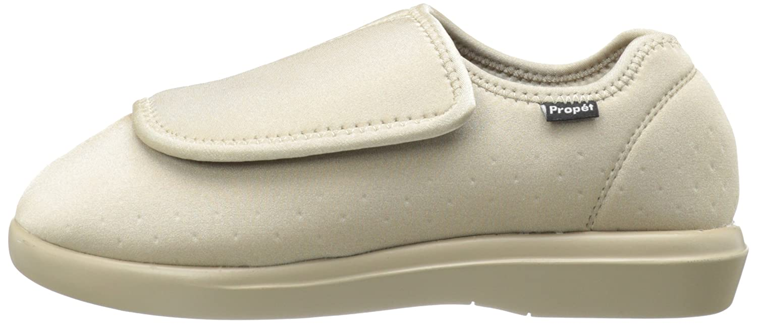 Propét Women's Cush N Foot Slipper B007M091TW 8 D US|Sand