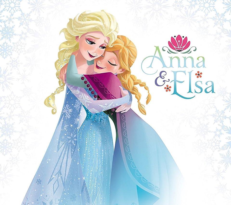 ディズニー Android 960 854 待ち受け アナと雪の女王 アナ エルサ