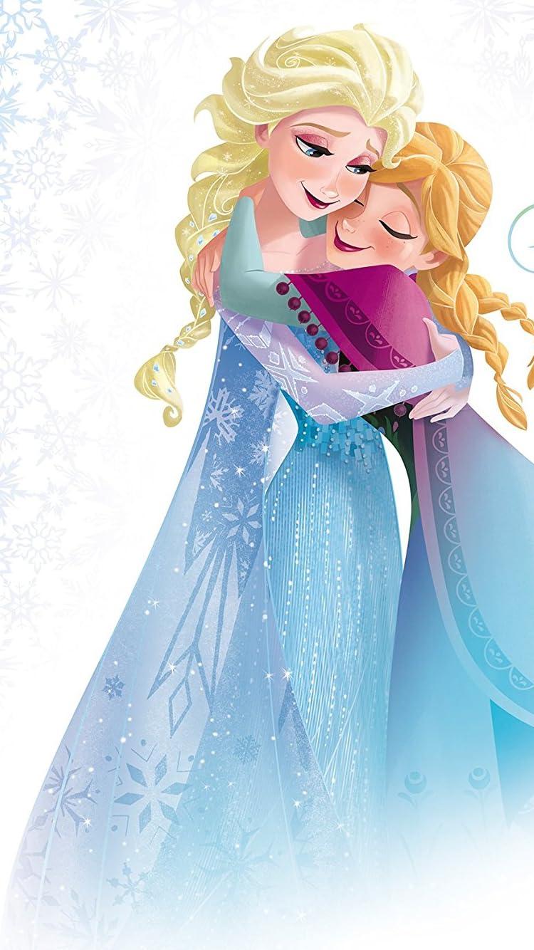 ディズニー Iphone8 7 6s 6 750 1334 壁紙 アナと雪の女王 アナ