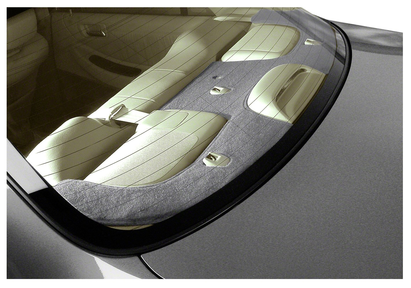Coverking Custom Fit Dashcovers for Select Honda Accord Models - Poly Carpet (Gray) CRDP3HD717A