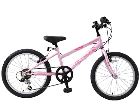 """20/"""" Wheel Girl/'s 7 Speed Steel Frame Shimano Full Suspension Mountain Bike NEW"""