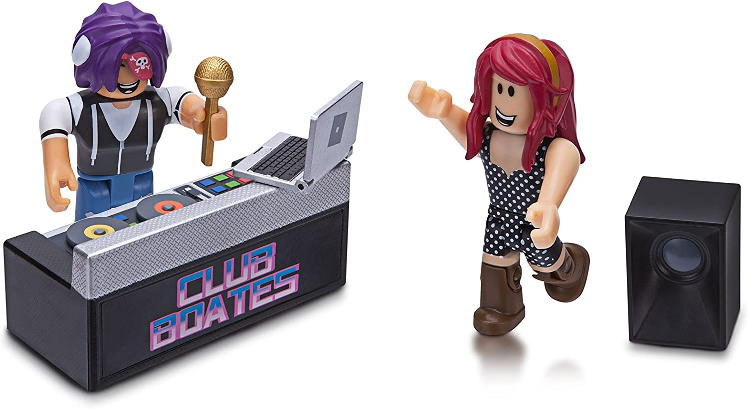 Amazon Com Roblox Celebrity Collection Club Boates Game Pack