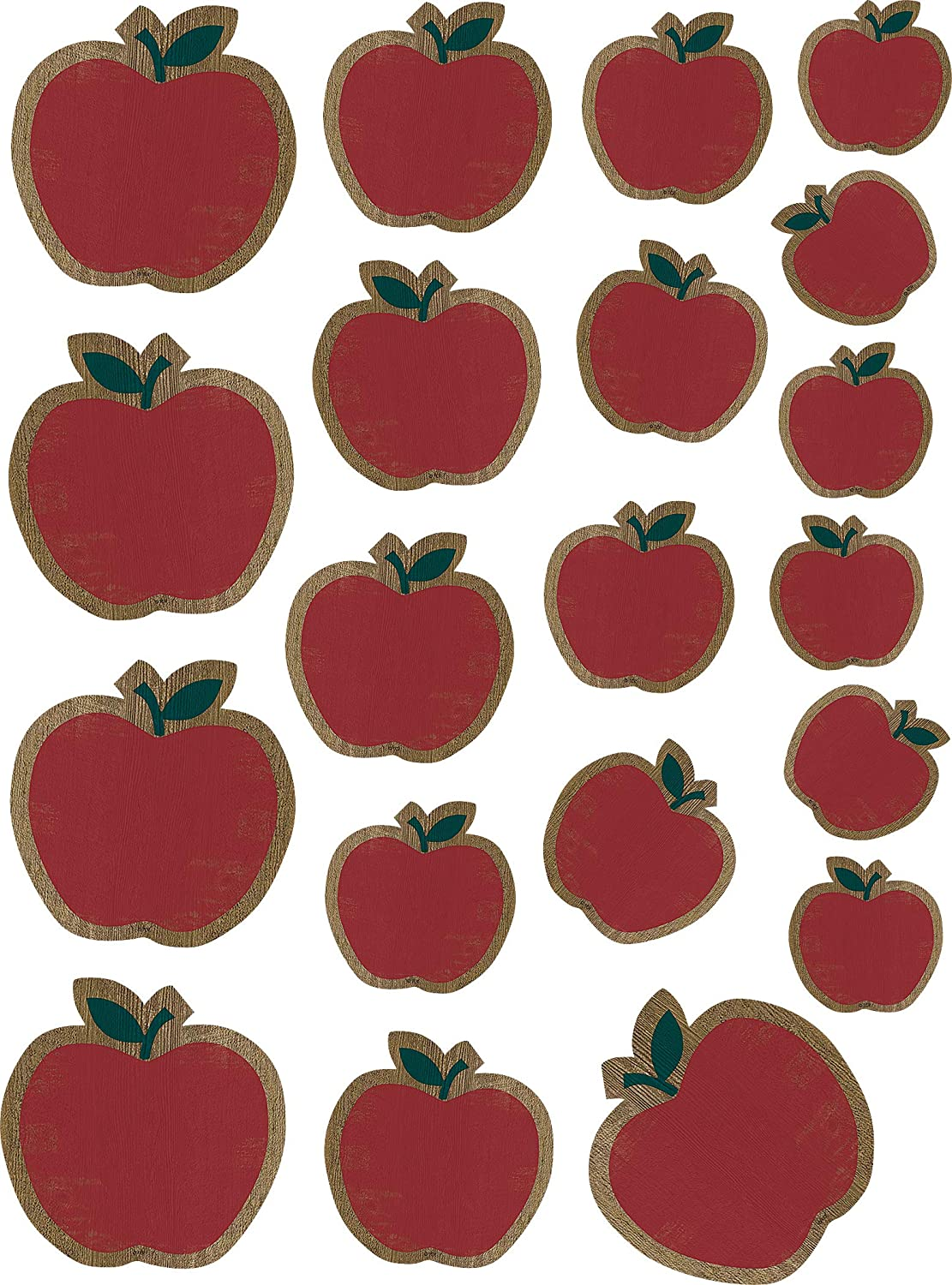Home Sweet Classroom Apples Accents - Assorted Sizes