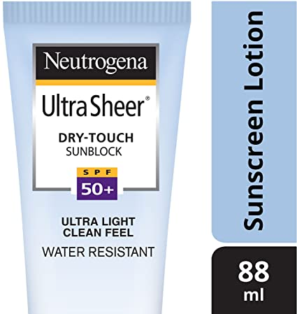 Valentine's Day Offers Beauty Neutrogena Ultra Sheer Dry-Touch Sunblock SPF 50+, 88ml