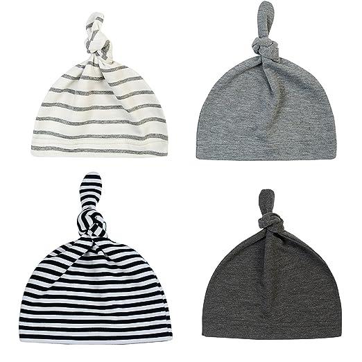 13fd19235a5 Tots on Trend Newborn Hats For Girls Soft 100 % Organic Cotton ...
