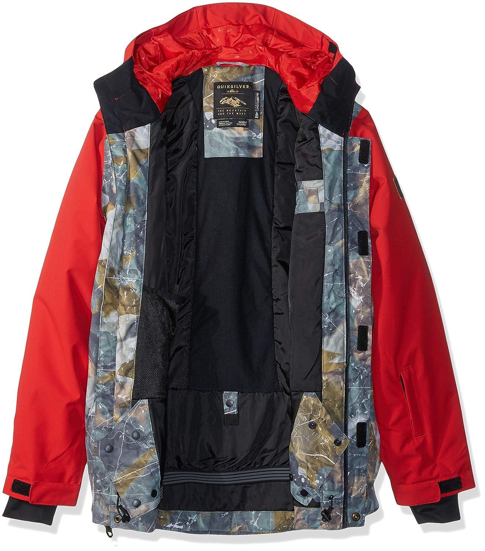 Quiksilver Boys Ridge Youth 10k Snow Jacket EQBTJ03072