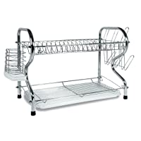 Deals on Better Chef 16-inch 2 Level Dish Rack
