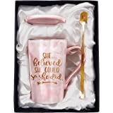 Tom Boy Congratulations Gifts For Women and Graduation Gifts For Her,She Believed She Could So She Did Mug,Spiritual…