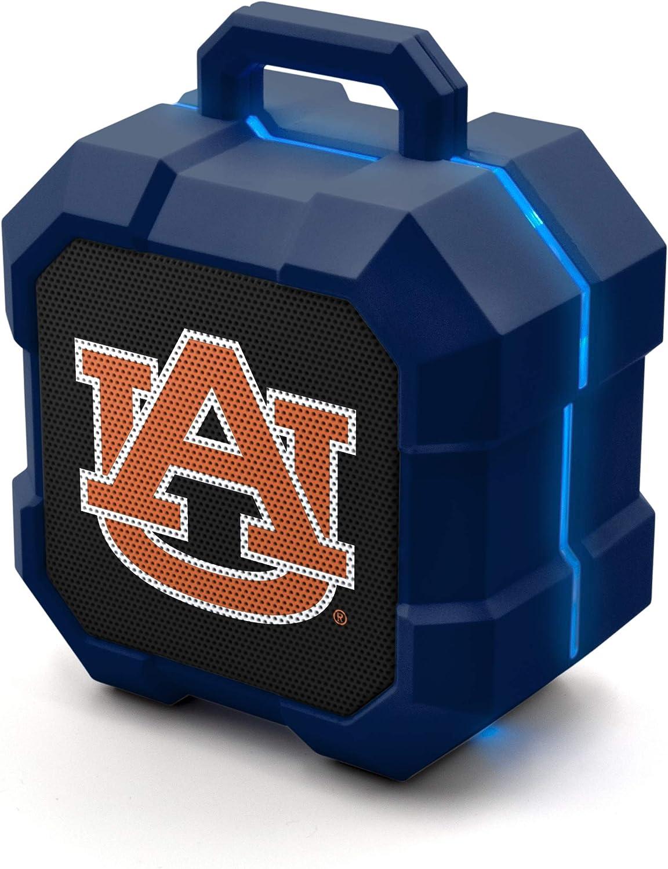 NCAA Prime Brands Group Shockbox LED Wireless Bluetooth Speaker