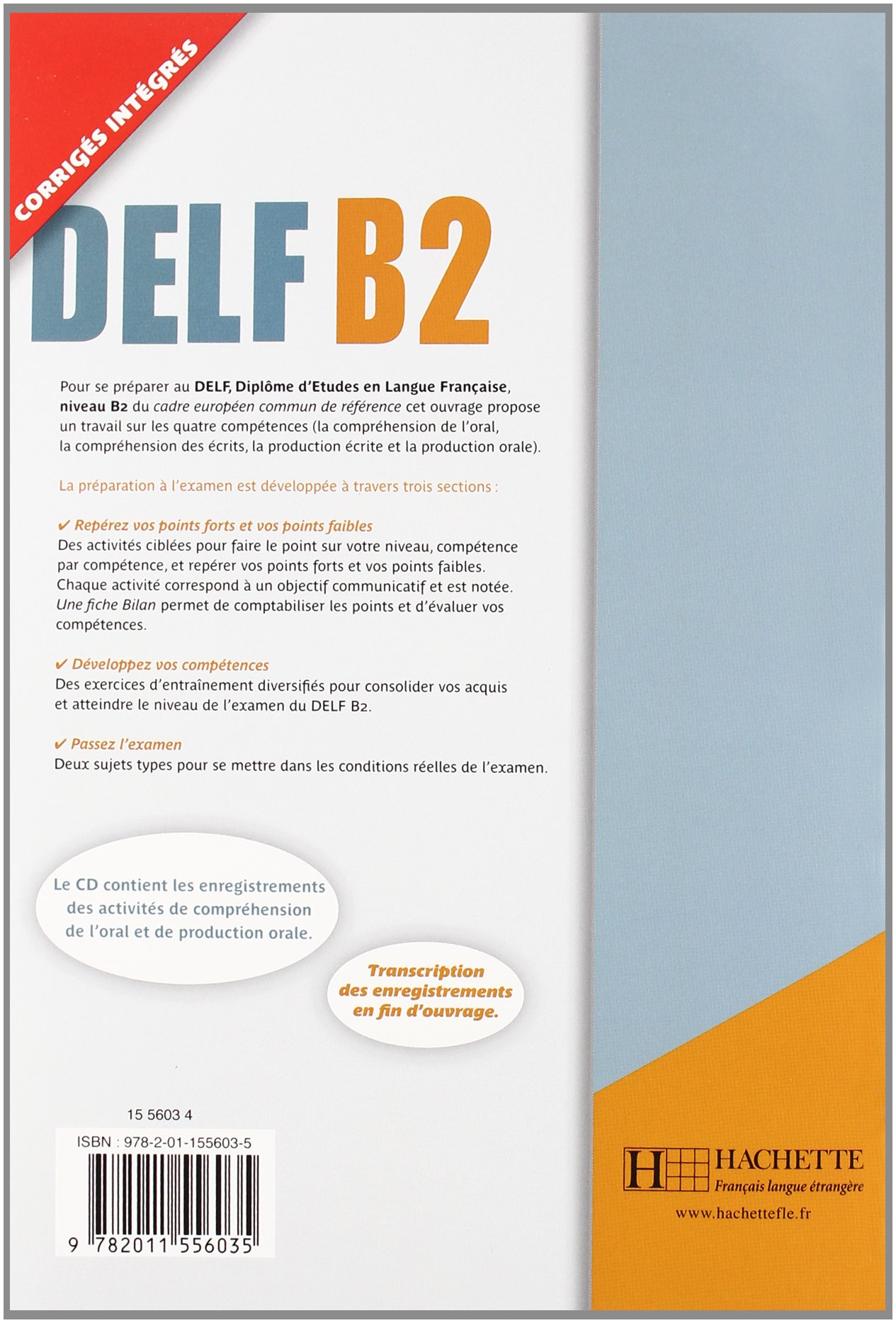 Delf B2 Livre de LEleve + CD Audio (Etranger) (French Edition): Marie-Christine Jamet, Jamet: 9782011556035: Amazon.com: Books