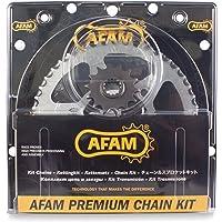 Afam 03801642 Kit cadena de moto (acero)