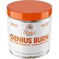 Genius Fat Burner - Thermogenic Weight Loss & Nootropic Focus Supplement - Natural Metabolism & Energy Booster for Men…